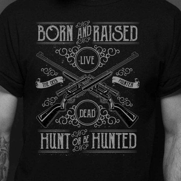 Born and Raised Hunting Shirt