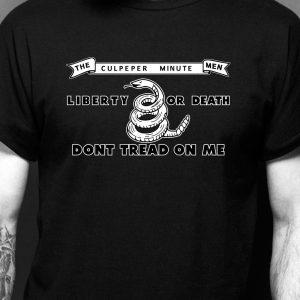 Culpeper Minute Men Liberty or Death T-shirt