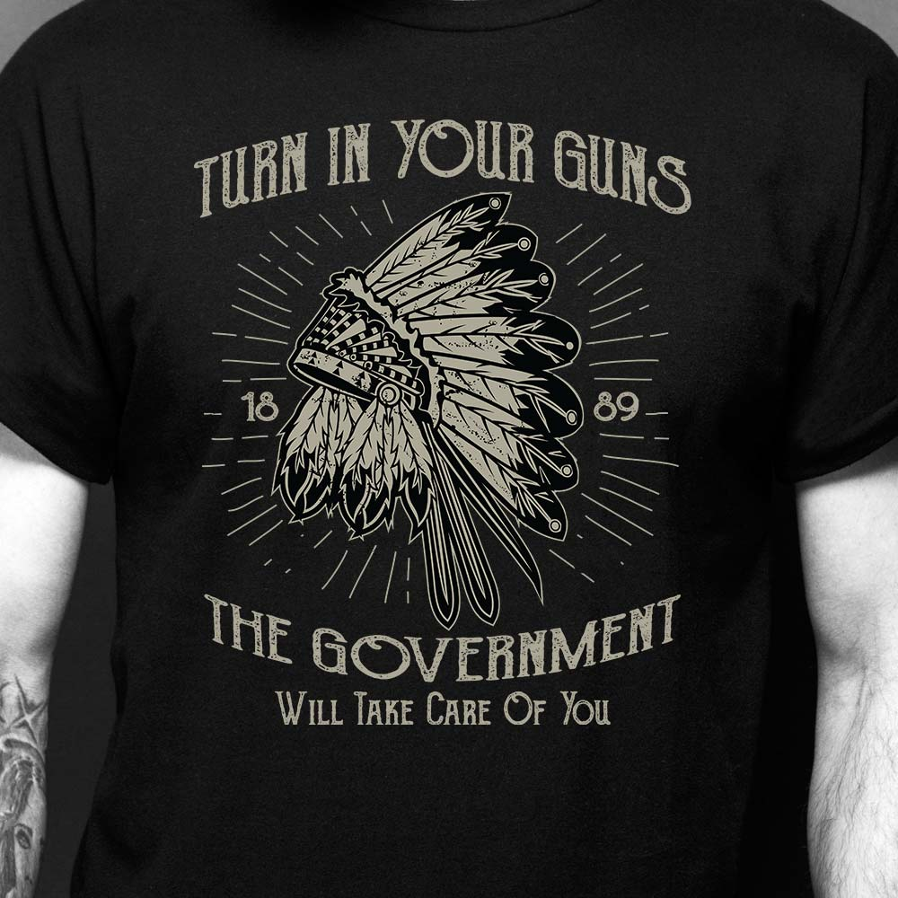 Turn in your guns shirt